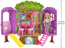 Barbie fpf83 FAMILY Chelsea Treehouse Playset Portable, Child Doll Included, ...
