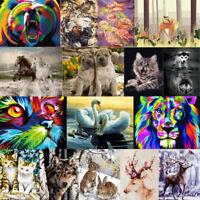 DIY Malen nach Zahlen Öl Acryl Malerei Set Tier Erwachsene Kinder Anfänger
