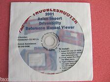 Snap On MT2500 MTG2500 Scanner MODIS Asian Ref Manual CD 2001 MT25002401-CD RevA