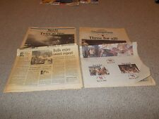 CHICAGO TRIBUNE Sports Sections BULLS 1st 2nd & 3rd NBA CHAMPIONSHIPS 1991-93