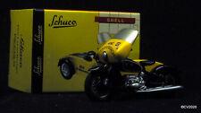 """1/43 Schuco Piccolo 05045 BMW R 60 mit Beiwagen """"ADAC"""", schwarz/gelb, 1 v.< 2000"""