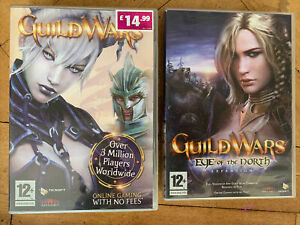 Guild Wars Special Edition PC CD-ROM With 2 Discs Eye Of The North 2 Bundle