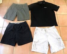 Lot 4pc - Men's Shorts Size 35 - 36 & Nike Golf Shirt Size XL