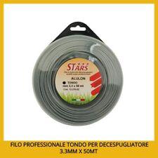 Filo professionale decespugliatore nylon ALLUMINIO ALULON mm 3,3X50 MT