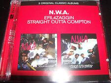 NWA / N.W.A Straight Outta Compton / Efil4zaggin (Australia) 2 CD - New