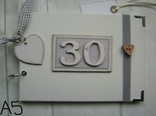 Personalizada 30TH Cumpleaños.A5 Tamaño. álbum De Fotos/libro De Memoria/álbum de recortes.