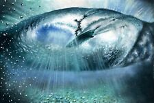Original Oil Painting | Surfer in a Wave