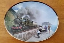 Davenport Collector Plate - The Record Breakers King George V Bradford Exchange