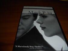 Match Point (DVD, Widescreen 2006) Jonathan Rhys-Myers, Scarlett Johansson NEW