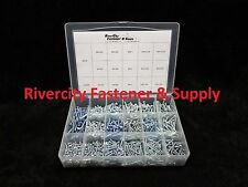 Phillip Pan Head Sheet Metal Screw Assortment Zinc 1050 pcs #6, #8, #10  Tapping