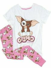 Ladies Womens Novelty Character Gremlin Gizmo PJs Pyjamas Set Size 8-22