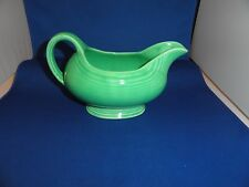 Vintage Fiesta Sauce Gravy Boat Green My Mother's From Eastern Ky Rexall Drugs