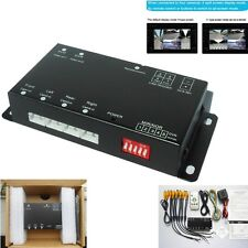 4-CH 360°Full View Car Image combiner View Parking Video Split Control Box DVR
