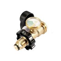 Details about  /Válvula reguladora Adaptador de Recarga para el Tanque Cilindro de Gas propanoNW