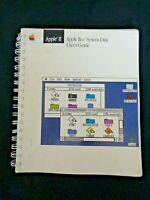 VINTAGE Apple IIGS System Disk User's Guide 1987 Computer II Setup Spiral Bound