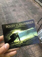 Rolex Libretto Submariner Original Eng 1999