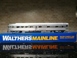 HO SCALE WALTHERS 85'BUDD OBSERVATION CHICAGO BURLINGTON & QUINCY