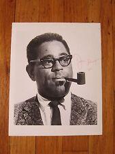Dizzy Gillespie signed 8x10 photo
