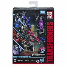 Transformers Studio Series ~ ARCEE, CHROMIA, ELITA-1 FIGURES #52 ~ Deluxe Class