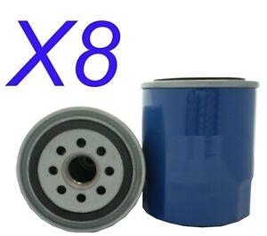 8X Oil Filter fits Z148 for Mazda 929 2.0 i GLX (HB) 1985 - 1987