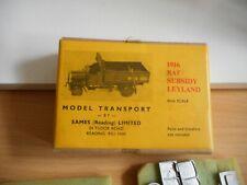 Metal Modelkit Eames Model Transport 1916 RAF / Subsidy Leyland on 1:76 in Box