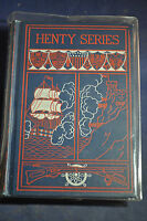 Ca 1898 *BEAUTY* Orange and Green: A Tale of the Boyne and Limerick by Henty