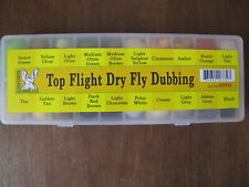Fly Tying Hareline Top Flight Dry Fly Dubbing Dispenser - 20 colors
