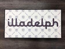 Extremely Rare Illadelph Glass Cinema Light Box Sign