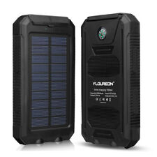 Portátil 10000mAh USB Cargador Banco de energía solar Batería respaldo externa