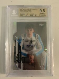 2020 Topps Chrome Formula 1 F1 George Russell SP Variation BGS 9.5 William POP 1