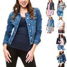 NEU Only Damen Jeansjacke Übergangsjacke Leichte Jacke Casual Blue Denim Jacket