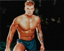 """DOLPH LUNDGREN """"Rocky"""" Autographed 8 x 10 Signed Photo TODD MUELLER COA"""