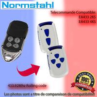 NORMSTAHL EA433 2KS Le remplacement de la télécommande 433.92MHz