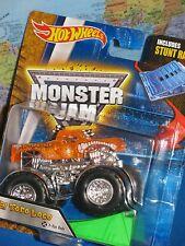 HOT WHEELS MONSTER JAM EL TORO LOCO TRUCK X-RAY #04 STUNT RAMP BRAND NEW & VHTF