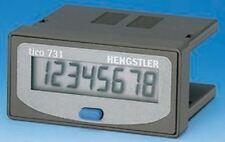 Hengstler Horas Contador, 8 Dígitos, LCD, Unión con Tornillo, 12Â ?? 24V Dc