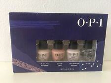 Opi Gift Set 4 Mini Opi Nail Polishes 3.75 ml each Nib
