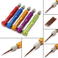 5in1 Service Screwdriver Watchmaker Open Repair Tool Precision Eyeglasses Watch-