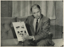 USA, Rollin Hotchkiss, American biochemist  Vintage silver print Tirage argent