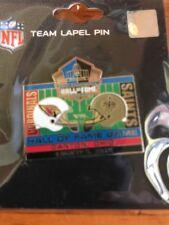 2012 New Orleans Saints Hall Of Fame Game Pin Vs Arizona Cardinals