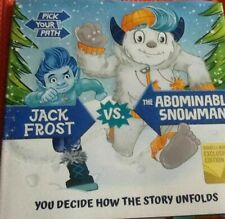 Jack Frost vs the Abominable Snowman Hcdj you decide how story unfolds!
