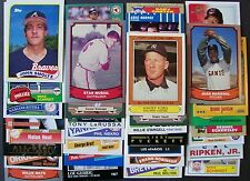 Fun lot of 250, 50 MLB 50 NFL 50 NBA Hall of Famers + 100 All Star / Pro Bowl