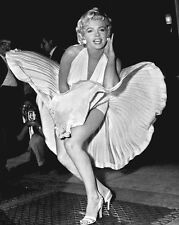"""New 8x10 Photo: Marilyn Monroe in """"The Seven Year Itch"""", Famous White Dress"""