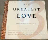 THE GREATEST LOVE 3 - 30 OF THE GREATEST LOVE SONGS OF ALL TIME TELSTAR DBL LP