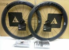 Profile Design 58 TwentyFour Carbon Clincher Wheelset Black Logo