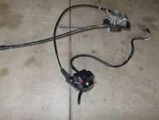 2009 Suzuki King Quad 750 Throttle Body Intake Injector Thumb Throttle Cable