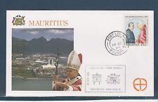 visite du Pape Jean-Paul II 1989  Mauritus  Port Louis