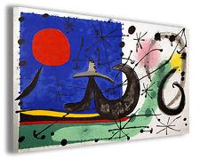 Quadri famosi Joan Mirò vol XIX Stampa su tela arredo moderno arte design