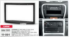 Car Stereo Radio Fascia Panel 2 Din Frame Kit for PEUGEOT/ CITROEN/ FIAT/ TOYOTA