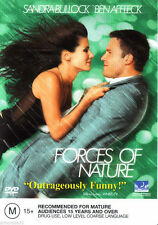 FORCES OF NATURE DVD_Sandra Bullock / Ben Affleck / ROMCOM