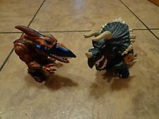 2--1996 MATTEL--EXTREME DINOSAURS FIGURES (LOOK) LOT #7